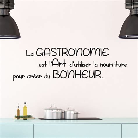 stickers citations cuisine sticker citation cuisine la gastronomie est l 39