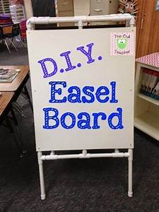 Anchor Chart Easel Make Your Own Easel Board Using Pvc Piping Diy Easel