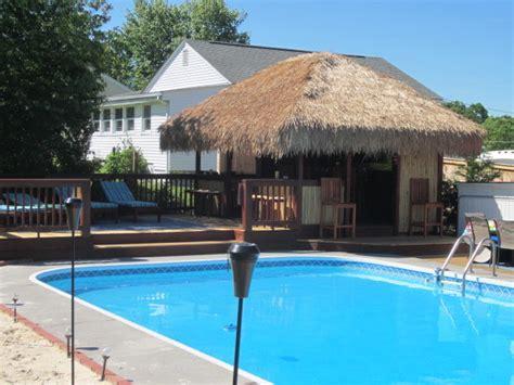 backyard pool bar backyard tiki bar