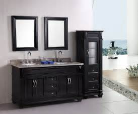 Menards Bathroom Sink Fixtures by Adorna 61 Quot Traditional Double Bathroom Vanity Set