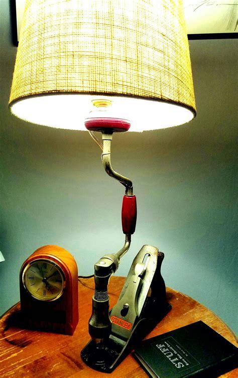 lamp     stanley wood plane   hand