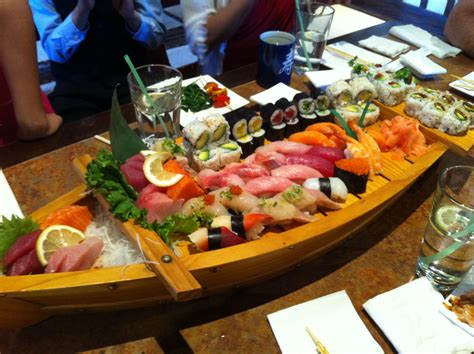Boat Sushi by Sushi Boat Food