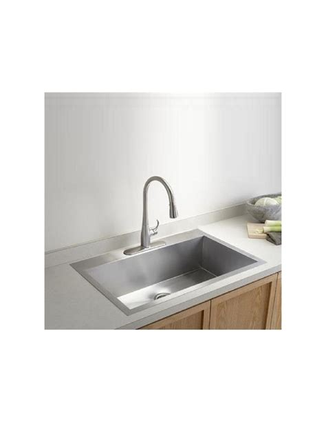 vault  kohler quality square modern kitchen sinks