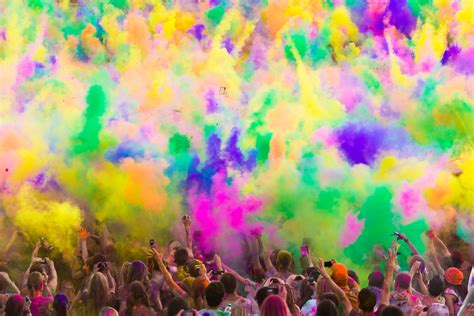 Do A Color Run Mybucketlist