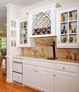kitchen liquor cabinet creative uses for a wine rack 2245