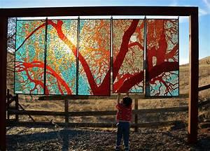 Glass, On, Glass, Mosaics