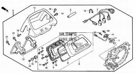2002 honda rancher 350 parts diagram honda auto wiring diagram
