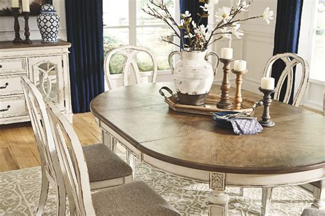 realyn dining room table ashley furniture homestore