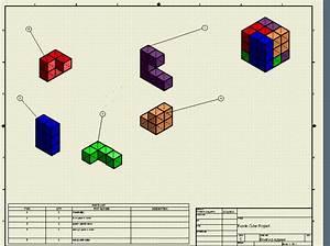 M, Lugardo, Engineering, Design, Puzzle, Cube, Project