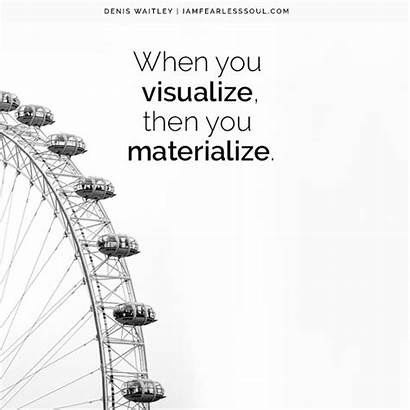 Visualization Quotes Future Powerful Create Goals Vision