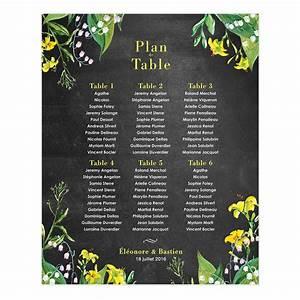 Nom De Table Mariage Champetre : plan de table de mariage champ tre personnalis et imprim ~ Melissatoandfro.com Idées de Décoration