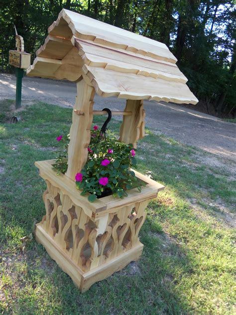 wddsr fine woodworks wishing  planters