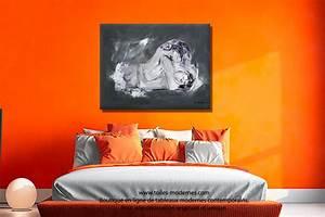 Tableau Chambre Adulte : tableau deco gris et blanc ~ Preciouscoupons.com Idées de Décoration
