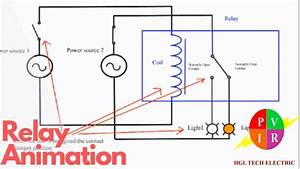 Relay Working Animation  How Does A Relay Work  Relay