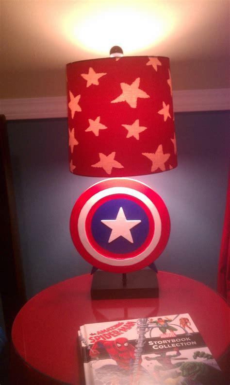 captain america l shade superhero l captain america l super hero room