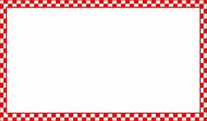 Red Checkered Border Clip Art at Clker.com - vector clip ...
