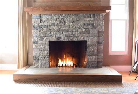 turn tv into fireplace airstone fireplace makeover from to