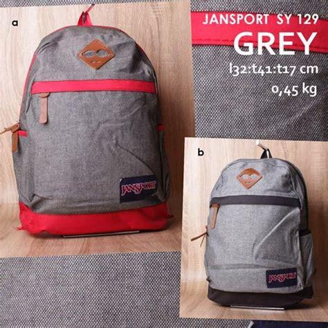 Ransel Jansport 7206 Polos jual tas ransel jansport grey model terbaru sy 129