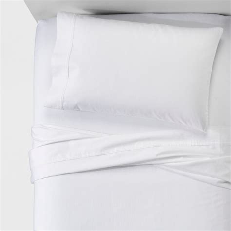 performance sheet king white 400 thread count