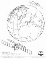 Satellite Coloring Space Missions Ekaterina Smirnova Sentinel Juno Getdrawings Earth sketch template