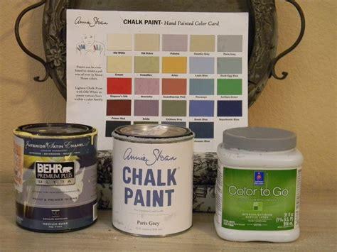 sloan chalk paint vs paint exact ascp colors