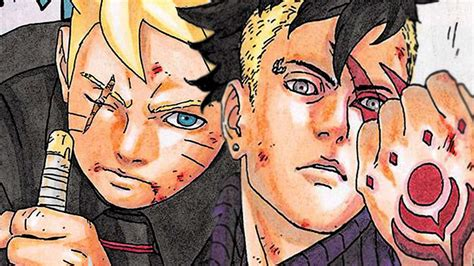omg boruto naruto  generation manga chapter