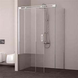 cabine de douche coulissante roller 140x80 a 140 x 100 cm With porte de douche coulissante avec miroir salle de bain 140 x 90