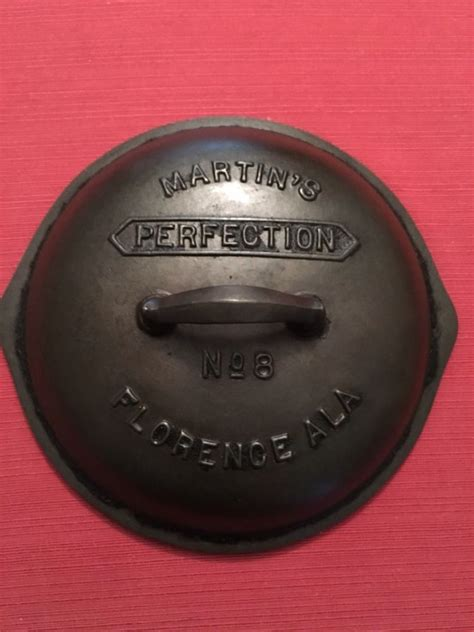 iron cast cookware skillet perfection martin lid