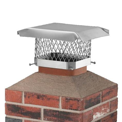 fireplace chimney cap stainless steel chimney caps camoose masonry supply