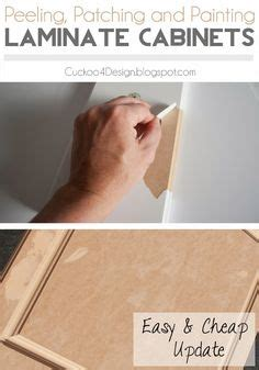 Laminate Cupboards Peeling by Cheap Kitchen Cabinets On Refacing Kitchen