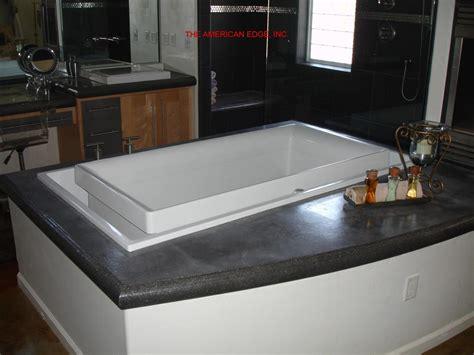 the american edge inc concrete showers bath