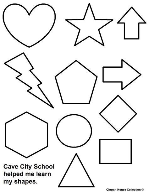 Best Shapes Coloring Pages Ideas And Images On Bing Find What