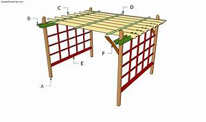 Woodwork Pergola Construction Videos PDF Plans