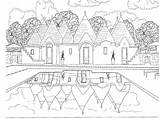 Coloring Colouring Scenery Pages Adults Scene Adult Travel Printable Beach Bestcoloringpagesforkids Intheplayroom Scenes Forest Zentangle Halloween Natural Grown Ups Inspired sketch template