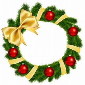 Christmas Wreath Pictures Clip Art - ClipArt Best