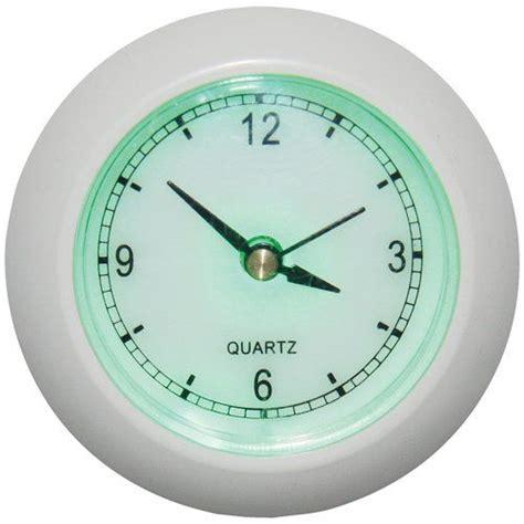 meridian led analog clock night light decor walmart com