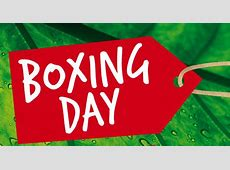 Boxing Day Jamaica Information Service