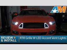 20152017 Mustang RTR Grille W LED Accent Vent Lights