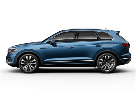 2019 Vw Touareg Unveiled; Makes World Debut In China
