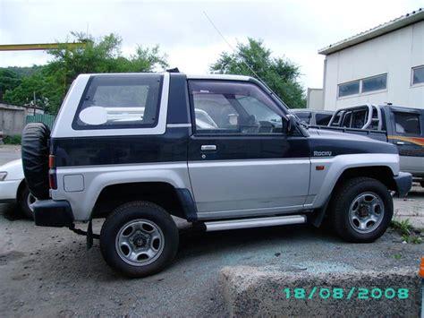 1992 Daihatsu Rocky by 1992 Daihatsu Rocky Pictures 1 6l Gasoline Automatic