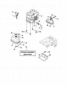 Engine Diagram  U0026 Parts List For Model 917273180 Craftsman