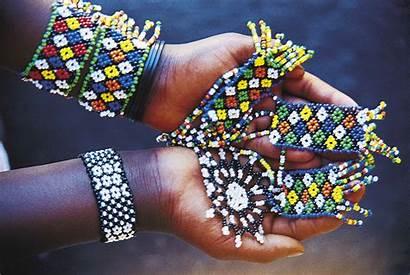 Zulu Culture Beading Cultural Sydafrika African Tribe