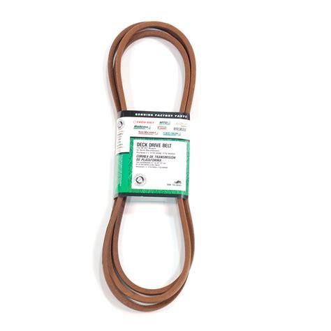 Troy Bilt Pony Deck Belt Size by Troy Bilt 50 In Deck Drive Belt For Lawn Mowers On