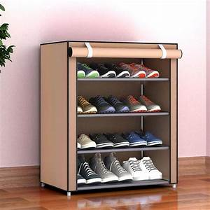 Dustproof, Shoe, Rack, Large, Size, Shoes, Organizer, Non, Woven, Fabric, Shoes, Rack, Home, Bedroom