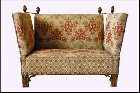 knole settee tudor knole sofa chairs sofas and other furniture