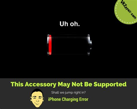 iphone this accessory may not be supported this accessory may not be supported fix iphon