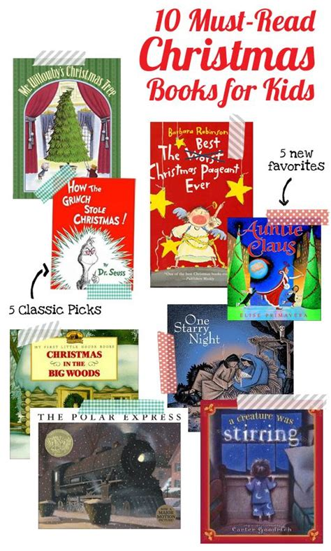 An Excellent List Of 10 Mustread Christmas Books For The Kids, 5 Classics And 5 New Favorites
