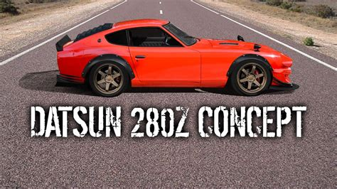 Datsun 240z Build by B Is For Build Widebody Rocket Bunny 280z Concept