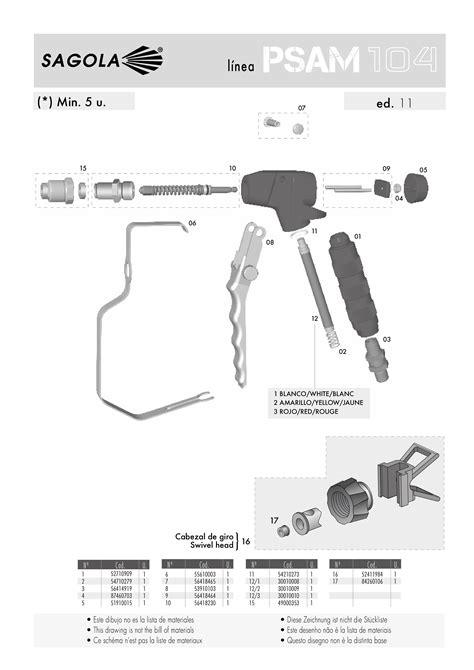 PSAM 104 - Airless Spray Guns - All - Industry