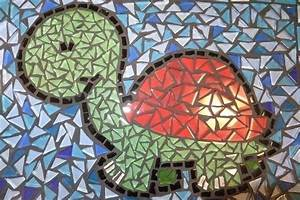 Mosaic Turtle · A Piece Of Mosaic Art · Mosaic on Cut Out